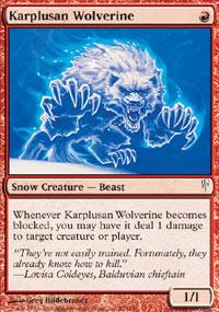 Karplusan Wolverine - Coldsnap