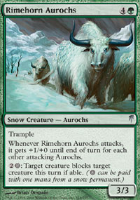 Rimehorn Aurochs - Coldsnap