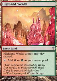 Highland Weald - Coldsnap