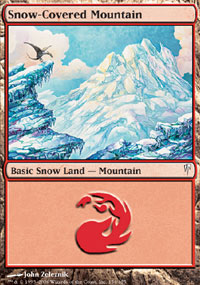 Snow-Covered Mountain - Coldsnap