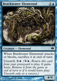 Brackwater Elemental - Conflux