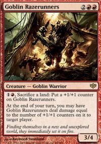 Goblin Razerunners - Conflux