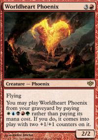 Worldheart Phoenix - Conflux