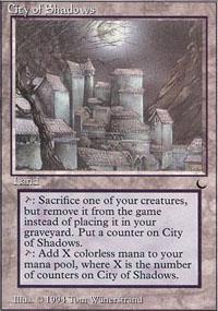 City of Shadows - The Dark