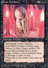 Curse Artifact - The Dark