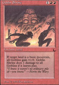 Goblin Shrine - The Dark