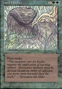 Land Leeches - The Dark
