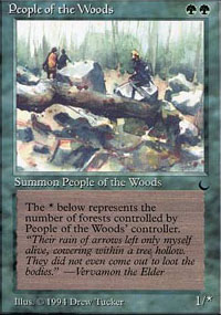 People of the Woods - The Dark