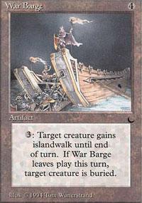 War Barge - The Dark