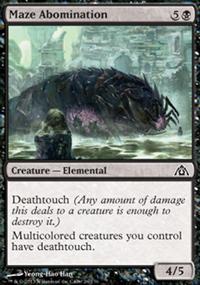 Maze Abomination - Dragon's Maze