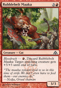 Rubblebelt Maaka - Dragon's Maze