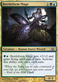 Beetleform Mage - Dragon's Maze