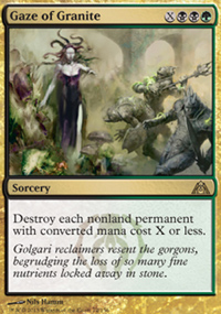 Gaze of Granite - Dragon's Maze
