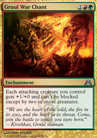 Gruul War Chant - Dragon's Maze