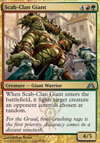 Scab-Clan Giant - Dragon's Maze