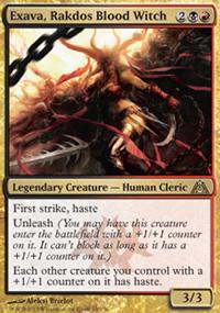 Exava, Rakdos Blood Witch - Dragon's Maze