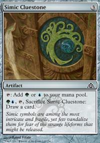 Simic Cluestone - Dragon's Maze