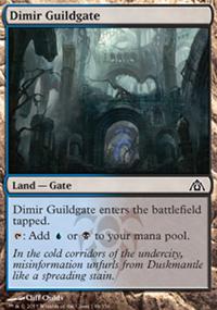 Dimir Guildgate - Dragon's Maze