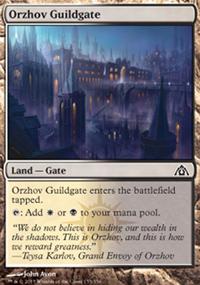Orzhov Guildgate - Dragon's Maze