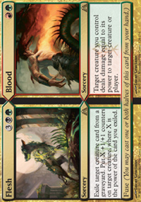 Flesh / Blood - Dragon's Maze