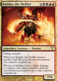 Rakdos the Defiler - Dissension