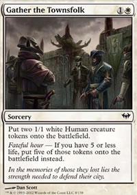 Gather the Townsfolk - Dark Ascension