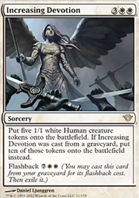 Increasing Devotion - Dark Ascension
