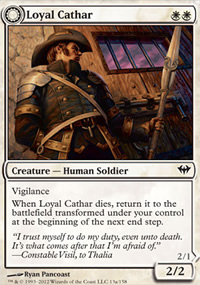 Loyal Cathar - Dark Ascension