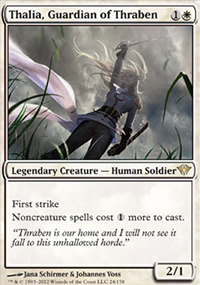 Thalia, Guardian of Thraben - Dark Ascension