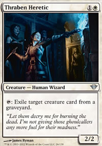 Thraben Heretic - Dark Ascension