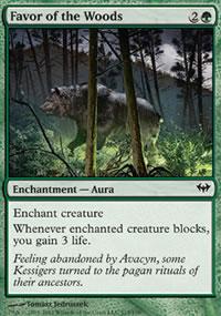 Favor of the Woods - Dark Ascension