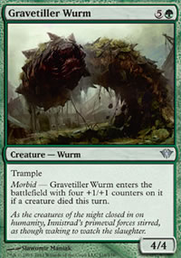 Gravetiller Wurm - Dark Ascension