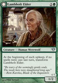 Lambholt Elder - Dark Ascension