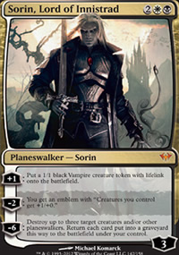 Sorin, Lord of Innistrad - Dark Ascension
