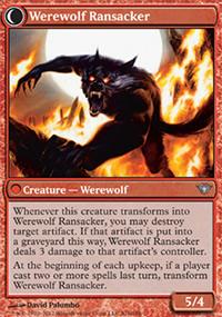 Werewolf Ransacker - Dark Ascension