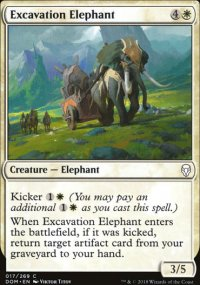 Excavation Elephant - Dominaria