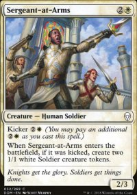 Sergeant-at-Arms - Dominaria