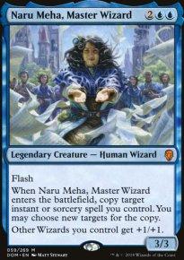 Naru Meha, Master Wizard - Dominaria