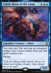 Zahid, Djinn of the Lamp - Dominaria