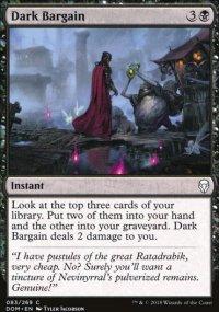 Dark Bargain - Dominaria