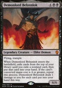 Demonlord Belzenlok - Dominaria