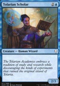 Tolarian Scholar - Dominaria
