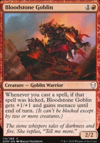 Bloodstone Goblin - Dominaria