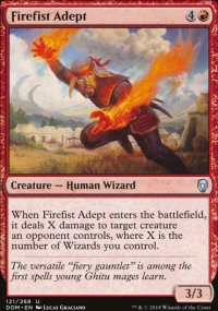 Firefist Adept - Dominaria