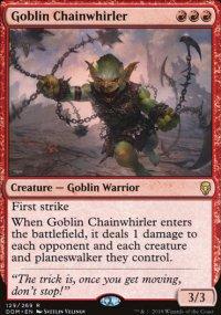 Goblin Chainwhirler - Dominaria