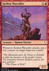 Keldon Warcaller - Dominaria