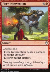 Fiery Intervention - Dominaria