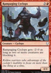 Rampaging Cyclops - Dominaria