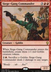 Siege-Gang Commander - Dominaria