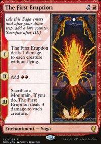 The First Eruption - Dominaria